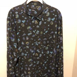 Men's Urban Outfitters colorful rock shirt US L